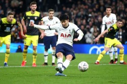 Fa Cup Report Tottenham Southampton Lucas Moura Son Heung Min Rescue Spurs