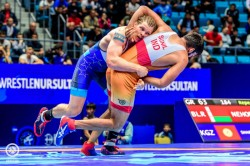 Asian Wrestling Sunil Reaches Second Successive Final