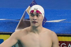 Three Time Olympic Champion Sun Yang Handed Eight Year Doping Ban