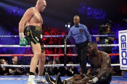 Tyson Fury Beats Deontay Wilder Anthony Joshua