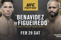 Ufc Fight Night 169 Benavidez Vs Figueiredo Fight Card Date Time Tv Info