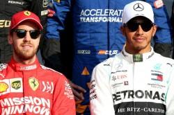 Sebastian Vettel Ferrari Lewis Hamilton F