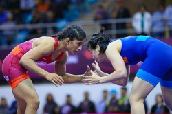 Asian Wrestling Championship Sakshi Settles For Silver Three Other Indian Girls Bag Bronze Day