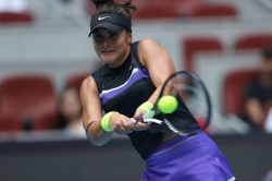 Bianca Andreescu Not Fit Return Knee Injury Champion Indian Wells