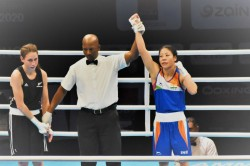 Mary Kom Amit Panghal A Step Away From Tokyo