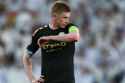 De Bruyne An Injury Doubt For Manchester Derby