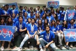 Delhi Capitals Paint Nift Blue At Its Annual Cultural Event Ahead Of Ipl