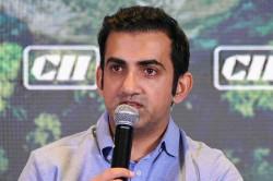 Coronavirus Gautam Gambhir Pledges Rs 50 Lakh To Fight The Pandemic
