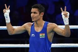 Boxing Olympic Qualifiers Gaurav Solanki Ashish Kumar Make A Winning Start
