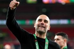 Pep Guardiola Savours Efl Cup Success Man City