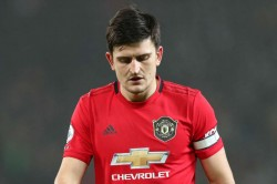 Harry Maguire Doubt Manchester Derby United City Ankle Injury