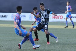 Hero I League Stoppage Time Penalty Earns Indian Arrows A Dramatic Point Against Punjab