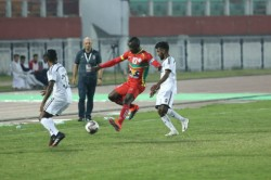 Hero I League Uche S Spotkick Helps Trau Complete Double Over Churchill Brothers