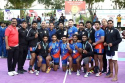 Senior National Kabaddi Championship Pawan Sehrawat Leads Indian Railways To Title Win