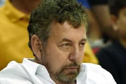 Coronavirus New York Knicks Owner James Doland Tests Positive