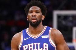 Joel Embiid Philadelphia 76ers Nba Season Suspended