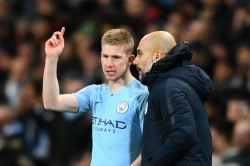 De Bruyne Will Challenge Himself Guardiola Says He Can Do Little To Improve Exceptional City Star