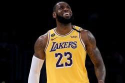 Lebron James Los Angeles Lakers Brooklyn Nets Nba