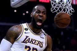 Coronavirus Lebron James Backtracks Playing Empty Arenas Los Angeles Lakers
