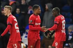Rangers Bayer Leverkusen Europa League Report Leon Bailey Kai Havertz On Target