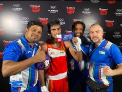 Manish Kaushik Books Tokyo Berth As Indian Boxers Bag Highest Ever Haul Of 9 Olympic Quotas