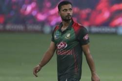 Mashrafe Steps Down As Bangladesh One Day Captain