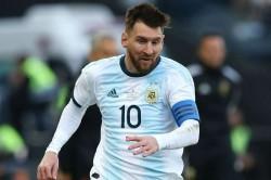 Lionel Messi Argentina Leader Protector Nicolas Tagliafico