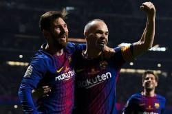 Andres Iniesta Closest Lionel Messi Luis Enrique