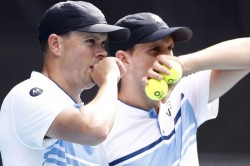 Bryan Brothers Usa Davis Cup Finals Colombia Argentina