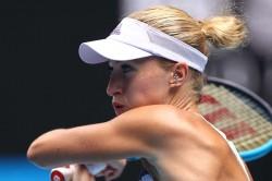 Kristina Mladenovic Beats Chloe Paquet Lyon Open