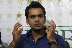 Mohammad Hafeez Takes A Dig At Tainted Sharjeel Khan Comeback