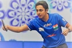 Table Tennis India Paddler Mudit Dani Off To Flying Start At Oman Open