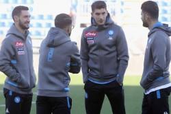 Coronavirus Napoli Training Serie A