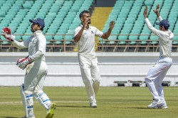 Ranji Trophy Visiting Bengal Ahead Against Saurashtra After Late Strike