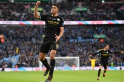 Aston Villa 1 2 Manchester City Fifth Efl Cup Triumph In Seven Seasons For City