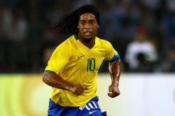 Ronaldinho 40 Birthday Brazil Top 10 Number 10 Shirt Selecao Barcelona Pele Zico Rivaldo