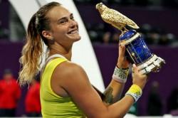 Aryna Sabalenka Defeats Petra Kvitova Seals Sixth Title Qatar Open