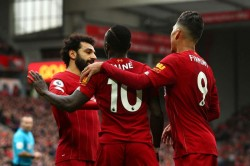 Liverpool Bournemouth Mohamed Salah And Sadio Mane Clinch Record Breaking Win