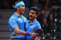 Table Tennis Sharath Sathiyan Enter Top 20 In Tt Doubles World Rankings