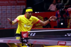 Indian Paddler Sharath Storms Into Final At Oman Open