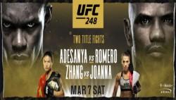 Ufc 248 Adesanya Vs Romero Preview Fight Card Timings Tv Info