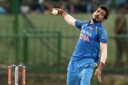 Chahal Wears Mask On Way To Dharamsala For First Odi