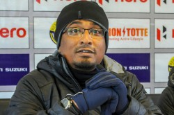 Chennai City S Singaporean Coach Nawas Stuck In India Uses Time To Read And Guide Players