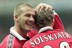 David Beckham 50 Assists Record Manchester United Man Utd West Ham Premier League Scholes Solskjaer