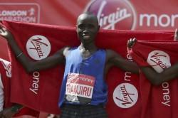 London Marathon Winner Daniel Wanjiru Provisional Anti Doping Ban
