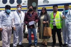 Dingko Singh Reaches Delhi As Air Ambulance Flies Him In For Cancer Treatment