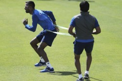 For Hardik Pandya There Is No Rest Day Even Amidst Lockdown