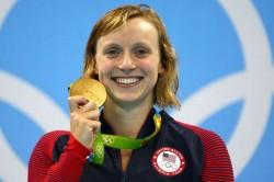 Coronavirus Swimming Superstar Katie Ledecky Tokyo 2020 2021 Olympics Target
