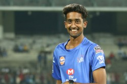 Ipl 2020 Csk Spinner Sai Kishore Recalls Valuable Learning From Ms Dhoni