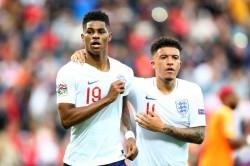 Jadon Sancho Marcus Rashford England Fifa Tournament
